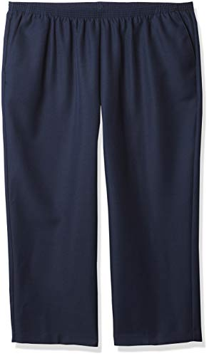 Alfred Dunner Womens Plus Short Pant, Blue, 22W