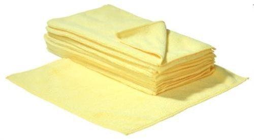 SBS Mikrofasertücher   30 x 30 cm   100 Stück   gelb Microfasertuch Mikrofaser Tuch Microfasertücher
