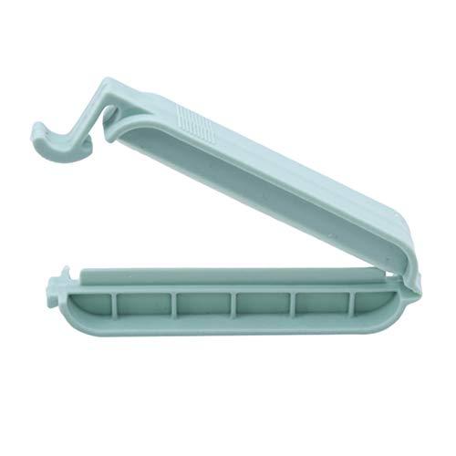 Xufeisac 12 Stück Wiederverwendbare Gefrierbeutel Sealer Chip Bag Clips Paket Clips für die Verwendung im Home Office der Küche