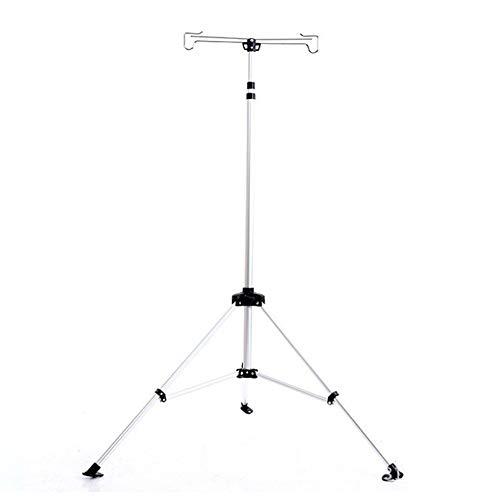 DQM Nuevo sostenedor de Aluminio de la lámpara del triángulo, Soporte Ligero Principal Plegable Ajustable, Usado para Acampar Acampar, Ocio, al Aire Libre
