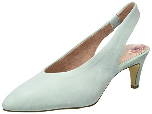 Tamaris Damen 1-1-29502-24 Slingback Pumps, Grün (Mint 760), 39 EU