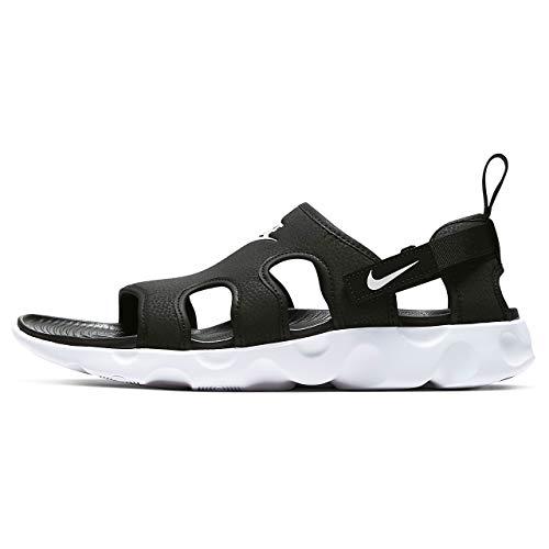 Nike Owaysis Mens Slide Casual Sandal Ct5545-001 Size 10 Black/White
