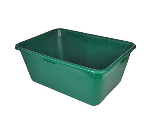 BURI 2er Set Jagdwanne Wildwanne 40 Liter grün
