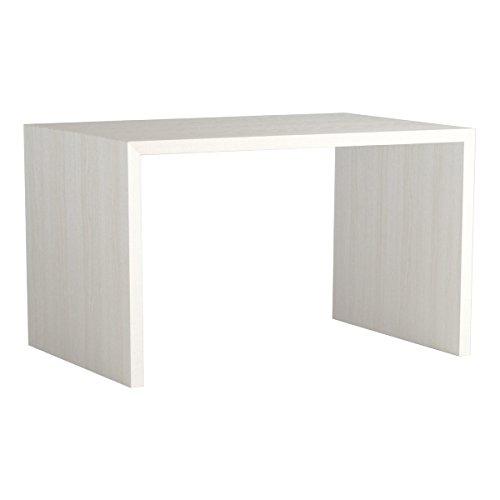 arne テーブル シェルフ 棚 コの字 ダイニングテーブル 150 この字テーブル おしゃれ 飾り棚 什器 幅150cm 奥行き80cm 高さ72cm Zero-X 15080D ホワイトウッド