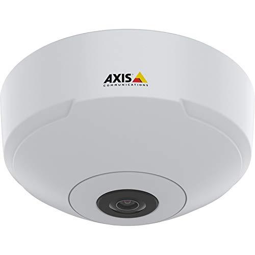 AXIS M3067-P Netzwerk-Überwachungskamera, Kuppel, Farbe (Tag und Nacht), 6 MP, 2016 x 2016, Feste Iris Brennweite, Audio, LAN 10/100, MJPEG, H.264, H.265, MPEG-4 AVC, PoE