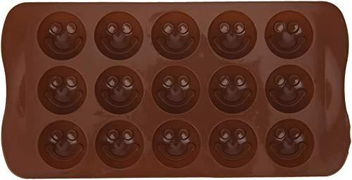 hwljxn Backform, weiche leichte tragbare Kuchenform, für Küchenhaus ((Smiley-Gesicht))