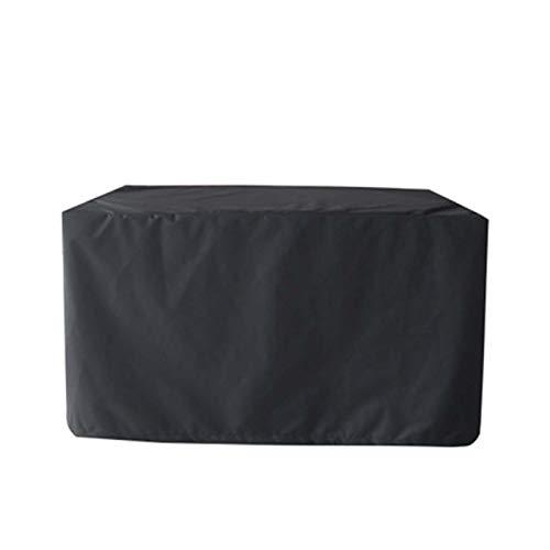 WZDD Cubierta De Muebles De Patio 315x160x74cm, Funda Mesa Exterior Impermeable, Funda Protectora Muebles Jardin a Prueba De Polvo, a Prueba De Rayos UV