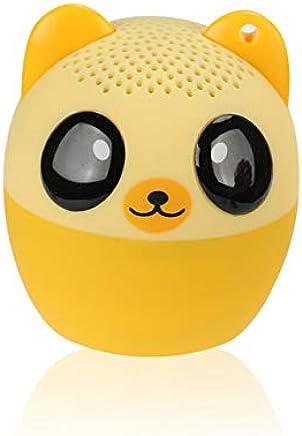 LAKD Mini Animale Bluetooth Altoparlante Portatile Cartone Animato All'aperto Lettore Musicale Zoom in Altoparlante Supporto Altoparlante Selfie Altoparlante Orso Giallo - Trova i prezzi più bassi