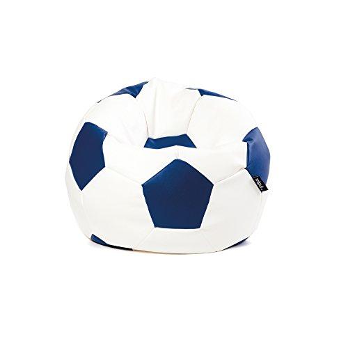 MiPuf   Puff Futbol Original   60cm diámetro   Tejido