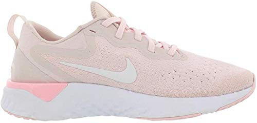 Nike Damen Laufschuh React Glide Shield Leichtathletikschuhe, Mehrfarbig (Arctic Pink/White/Barely Rose 600), 40.5 EU