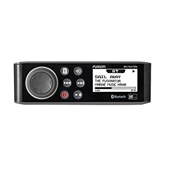 Fusion MS-RA70N Stereo with 4x50W AM/FM/Bluetooth 2-Zone USB NMEA 2000 Fusion Link Wireless Control for Fusion Link App