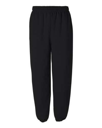 Gildan Adult 7.5 Sweatpant 18200 (L / Black)
