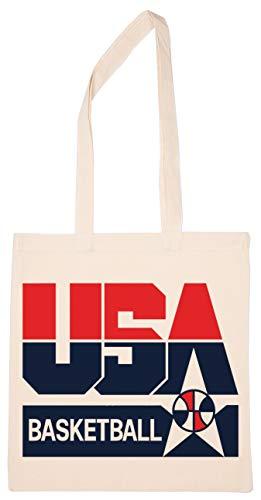 Enigmae Usa 1992 Basketball America Dream Team Reutilizable Compras Tienda de Comestibles Algodón Bolsa Reusable Shopping Bag
