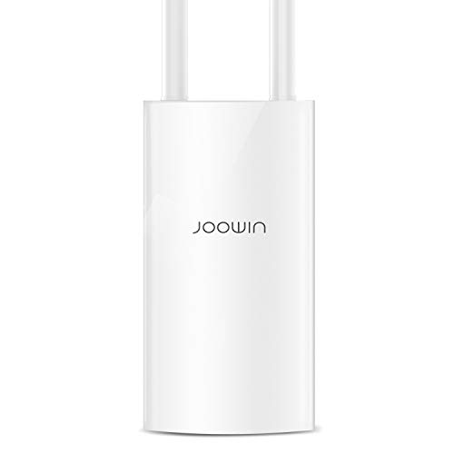 JOOWIN AC1200 High Power Outdoor Wireless Access Point with Poe, 2.4GHz 300Mbps or 5.8GHz 867Mbps...