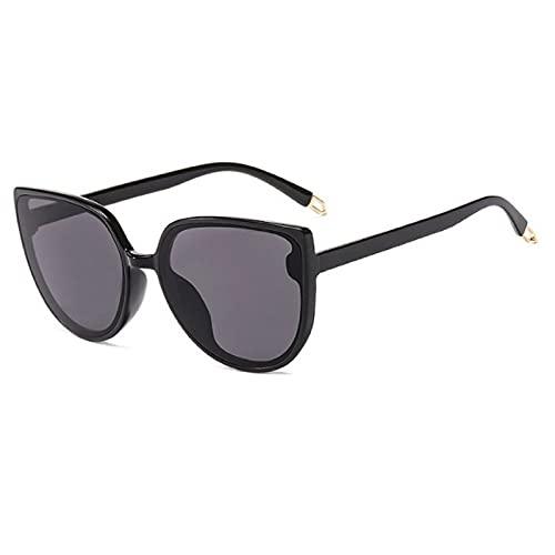 NBJSL Gafas de sol retro para mujer Moda Ojo de gato para mujer Gafas de sol vintage para mujer (Caja de embalaje exquisita)