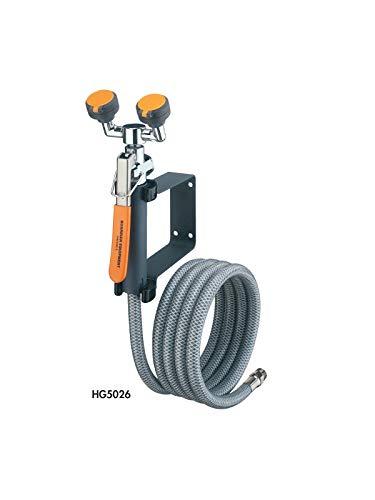 Guardian G5022 Metal Emergency Eye Wash/Drench Hose Unit, Deck Mounted