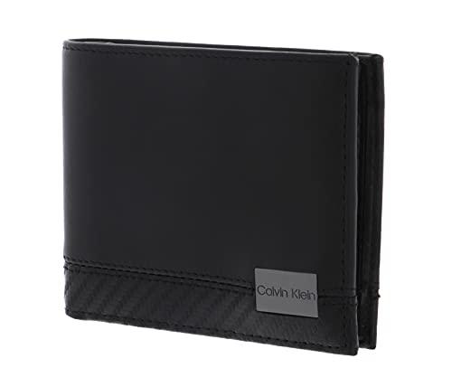 Calvin Klein 5CC Wallet + Keyfob CK Black