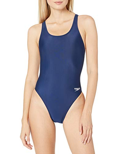 Speedo Women's Swimsuit One Piece ProLT Super Pro Solid Adult Speedo Navy, 30