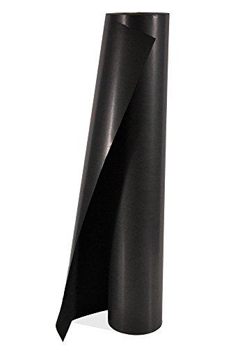 ergocolor Seidenpapier durchgefärbt naßfest, 75cm, 300m, ca. 6,3kg, 28g/m2, schwarz