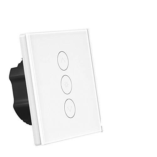 Trayosin timer voor rolluiken, jaloezieën, wifi, compatibel met Alexa Echo en Google Assistant Wall Switch voor curtain/scooter/motordeur stijl 2