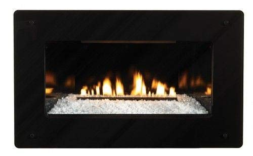 Great Price! Empire Comfort Systems Loft Series 28K Btu, IP VF Insert w/ (7 x 6) Black Surround, NG