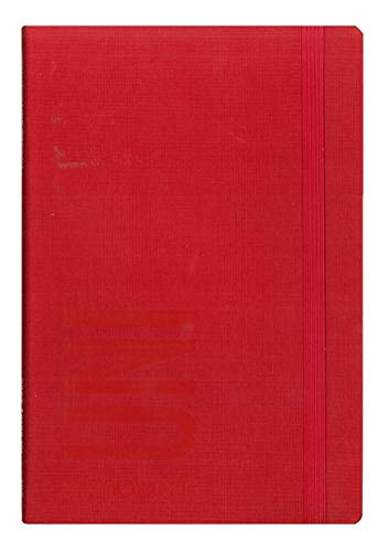 GUT. Diario Agenda Smemoranda Universitaria 2019/2020 Settimanale 16 Mesi Rosso 19x12,5 cm + Penna Colorata Omaggio
