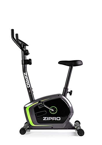 Zipro Erwachsene Magnetisches Fitnessbike Heimtrainer Drift bis 120kg, Schwarz, One Size, einheitsgröße
