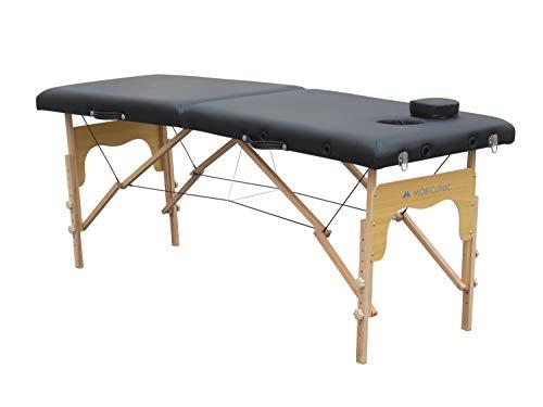Mobiclinic, Camilla de masaje Plegable, CM-01 Basic, Mesa de Masaje, Camilla de masaje profesional, portátil, madera, 2...