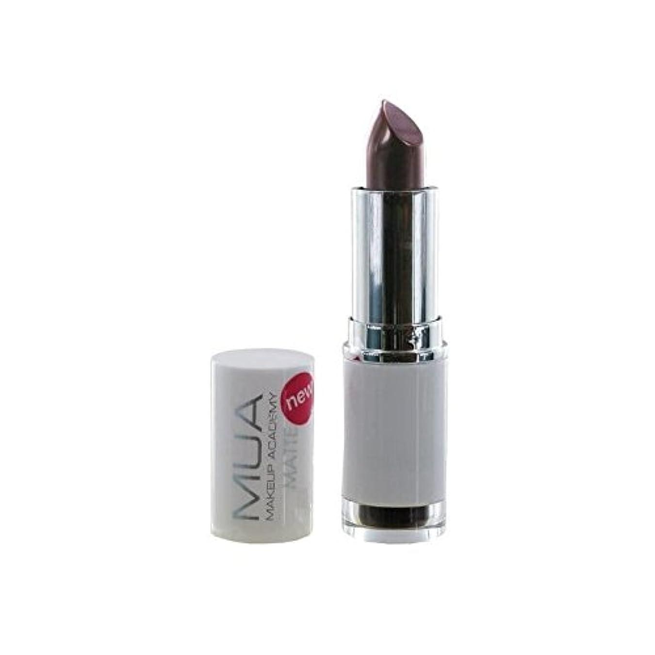 多分原理かろうじてMUA Matte Lipstick - Wild Berry (Pack of 6) - マット口紅 - ワイルドベリー x6 [並行輸入品]