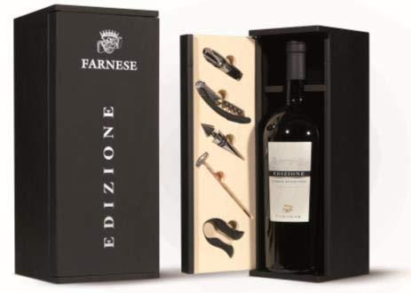 Farnese Edizione Cinque Autoctoni N°17 (1 x 1.5 Liter Magnumflasche) - in edler Holzkiste inklusive Wein-Accessoires