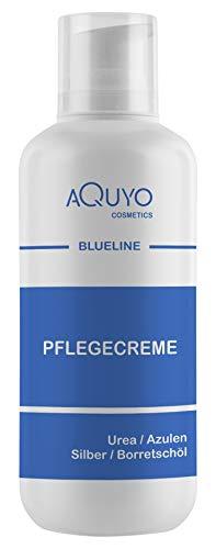Blueline Creme bei Ekzem, Hautpilz, Psoriasis oder Neurodermitis (500ml Spender) | Körpercreme für trockene, unreine, empfindliche Haut | Hautcreme zur Hautpflege bei Juckreiz und Hautirritationen