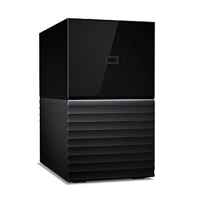 WD 8 TB My Book Duo Desktop RAID USB 3.1 External Hard Drive and Auto Backup Software