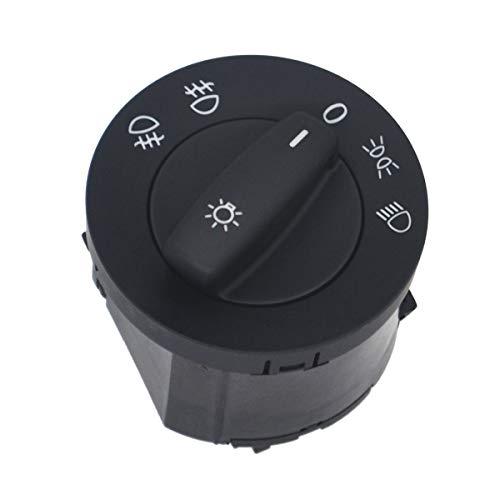 KASturbo Interruptor de control de las luces antiniebla del coche para 1T0941431C
