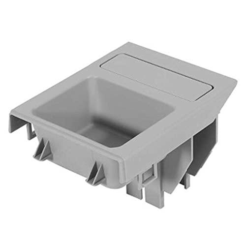Binogram Caja de Almacenamiento de Consola Central Delantera de VehíCulo de Doble Orificio para Monedas 51168248505 para E46 3 Series 318 320 325 330 1998-2006