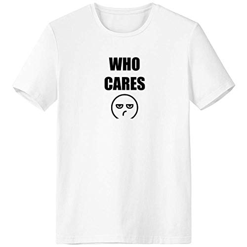 Dexbo Care Expression Results Blanc T-shirt à manches courtes Col rond Sport Unisexe, XXL