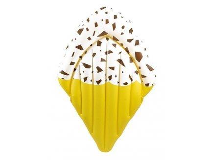 Gen 13 Matelas Gonflable Glace pépites Chocolat 180 cm Piscine et mer - Adulte 90 kg Max