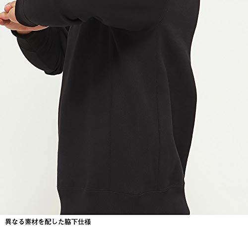 [ザノースフェイス]カットソースクエアロゴクルーメンズミックスグレー日本S(日本サイズS相当)