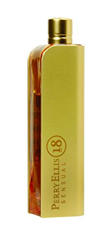 Perry Ellis 18 Sensual Eau De Parfum Spray 3.4 Oz/ 100 Ml for Women By 3.4 Fl Oz