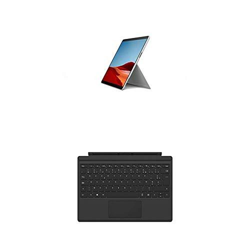 Microsoft Surface Pro X (Windows 10, écran Tactile 13', processeur Microsoft SQ2, 16 Go RAM, 512 Go SSD, 4G+LTE, Noir) PC Hybride+Clavier Type Cover - Compatible Surface Pro 3/4/5/6/7