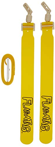 Flag-a-Tag Sonic Boom Flag Belts, Gold, 52-inch (One Dozen)