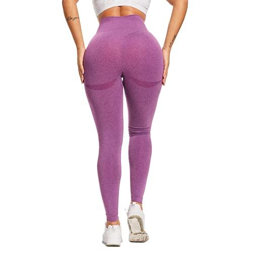 QTJY Estire y seque rápidamente Sus Pantalones de Yoga para Mujeres Cintura Alta Cadera Cadera Fitness Correr Pantalones Deportivos Leggings Push-up CL