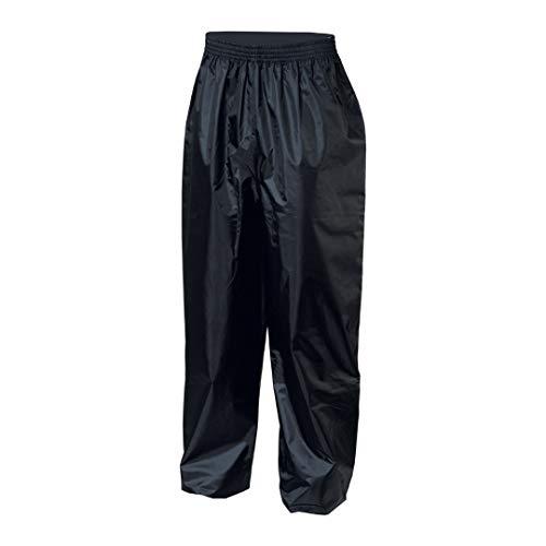 IXS Pantalone Antipioggia Crazy Evo Nero, Tg. 5XL