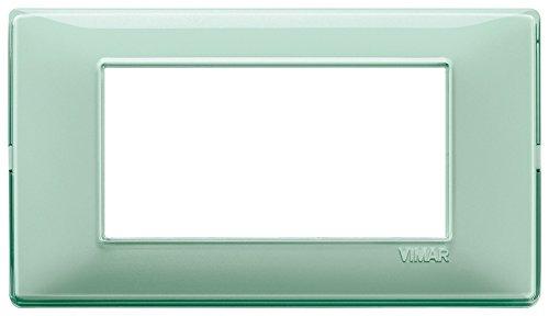 Vimar Serie piatto–Placca 4Modulo Reflex Menta