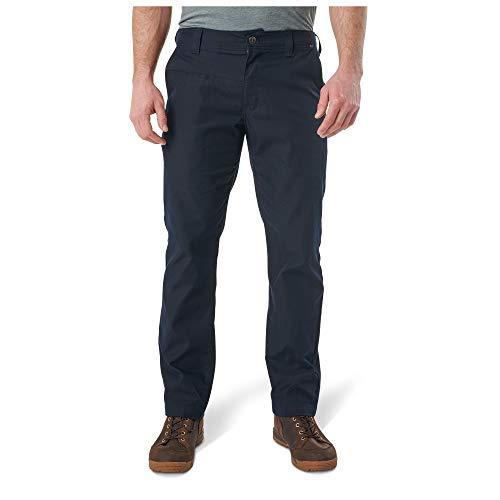 5.11 Pantalón Chino para Hombre, para Hombre Hombre, Pantalón Chino con Borde, 74481, Azul Marino, 30W / 34L