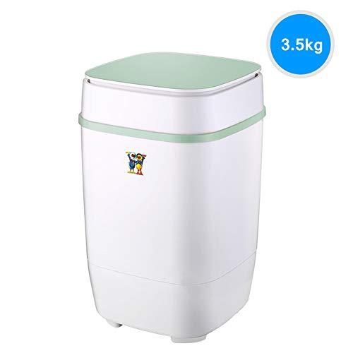 Portable Mini Single Tub Washing Machine Blu-ray efficiënt reinigen Wasmachine en centrifuge Combinatie Compact Camping slaapzaal Apartment College Room 3.5kg Totale capaciteit Gift drain basket