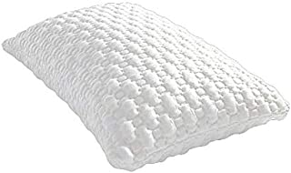 MLILY Harmony Shapeable Shredded Memory Foam Pillow with Soft and Elastic Pillowcase, 28'' x 18''