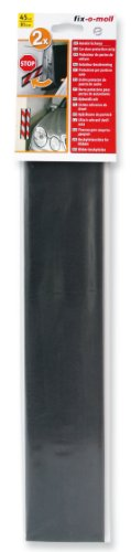 fix-o-moll Autotür-Schoner 45cm x 85mm Anthrazit selbstklebend 2er Pack
