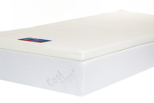 Southern Foam Memory Mattress Topper with Cover, 2 Inch, UK Super King