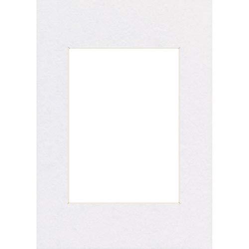 Hama Passe-partout (premium, dimensions : Extérieur : 60 cm x 80 cm / Intérieur : 40 cm x 60 cm) Blanc Arctique