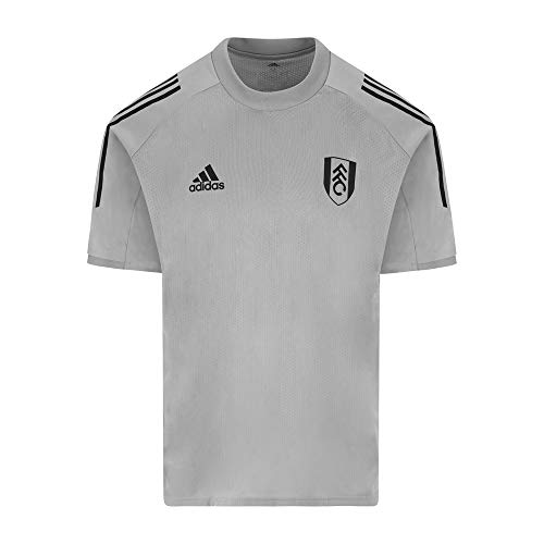 Fulham Football Club Trainings-Trikot ED9220, Grau / Schwarz Gr. XXL, grau / schwarz